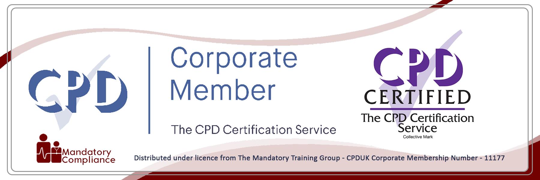 Candidate Mandatory Training Courses - Online Training Courses - CPDUK Accredited