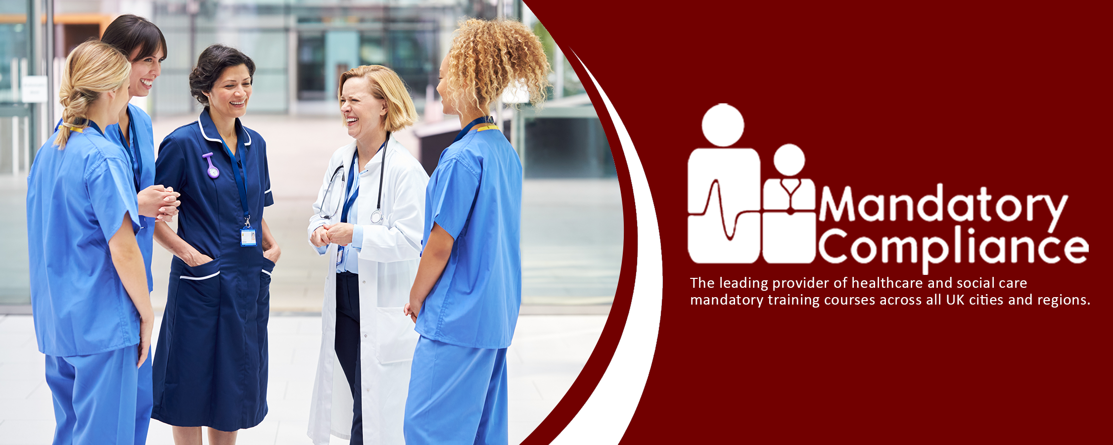 Mandatory Training Courses for Nurses and NHS Health Care Staff - Online Training Course - CPD Accredited -